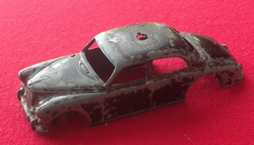 Corgi #209 - Original - Riley Pathfinder Police Car  - Body Shell